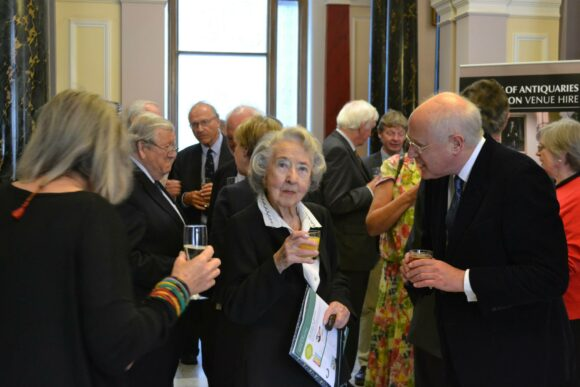 Beatrice de Cardi- 100th birthday- Society of Antiquaries of London 2